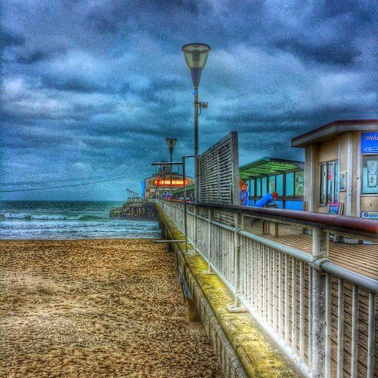 Clouds And Sky Pier Bournemouthpier Bournemouth Bournemouthbeach Beach