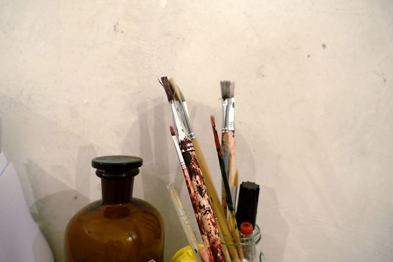 Atelier Artist Supplies Brushes Brush Glass Creativity Creative Art Art, Drawing, Creativity Arts Culture And Entertainment EyeEm Ready