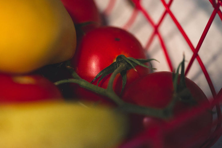Close-up Day Food Food And Drink Freshness Healthy Eating Indoors  No People Red Selective Focus Spice Table Tomato Vegetable