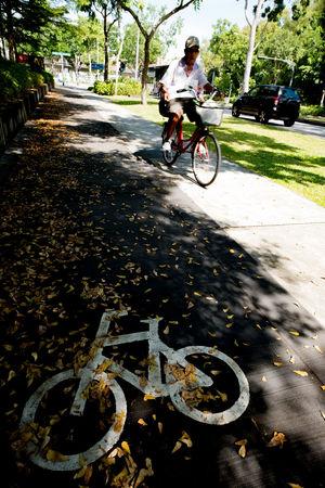 Street Photo Streetphotography Fujifilm_series Singaporestreetphotography Fujixclub Bicycle Lane Bicyclist Bycicle Lane Bicycle Track Fujifilm_xseries