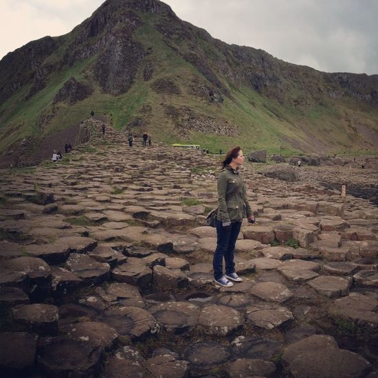 Nature Giants causeway Northern Ireland Sea Summer