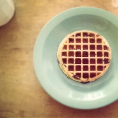 Perfecting the Matt Scandalis syrup technique. Breakfast GoodMorningWorld GetYourEggoOn