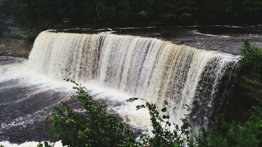 Waterfalls Tahqamenon Falls State Park