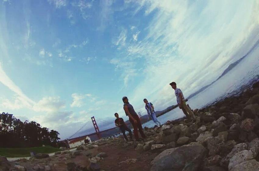 The EyeEm Facebook Cover Challenge Golden Gate Park Brothers Enjoying Life