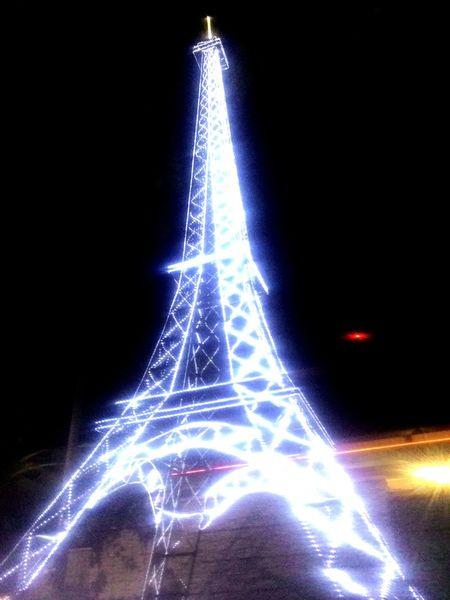 Nature Effel Tower Effel Light Night