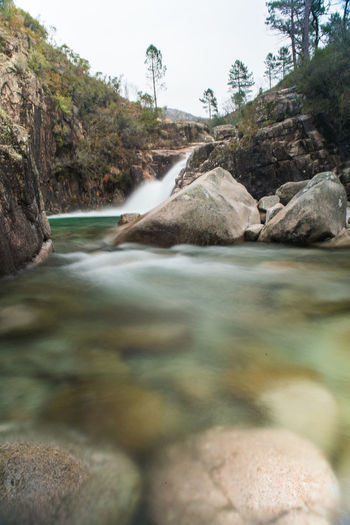 Ways Of Seeing National Park Portugal Rock Adventure Long Exposure Motion Mountain Nature Outdoors Tree Water Waterfall