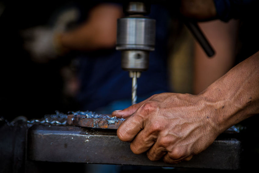 Business Close-up Equipment Finger Focus On Foreground Hand Human Body Part Human Hand Human Limb Indoors  Industry Machinery Manufacturing Equipment Metal Occupation One Person Skill  Technology Work Tool Working Workshop