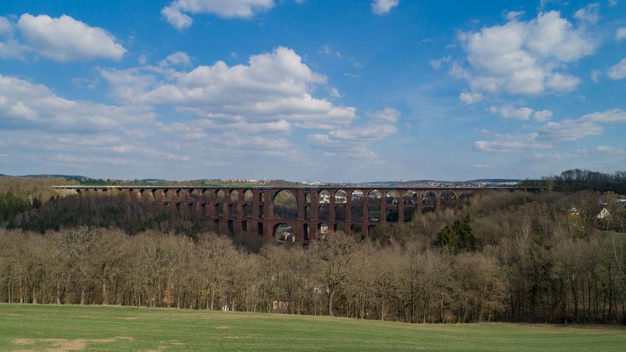 German goeltzschtal bridge, is a railway bridge in germany
