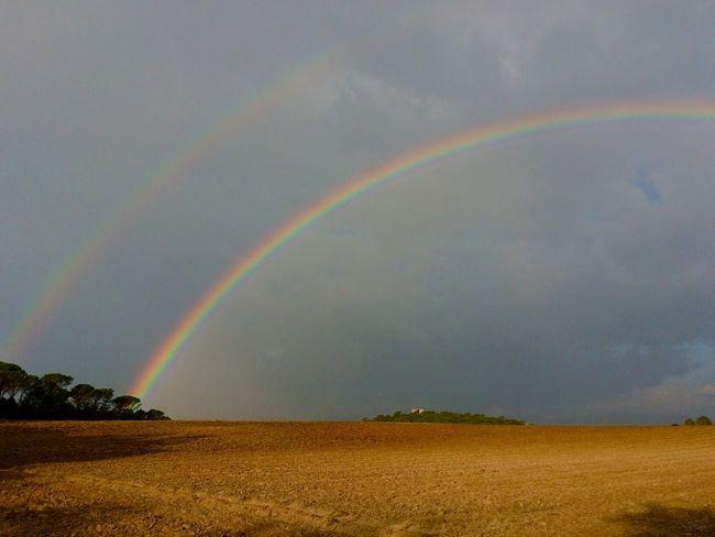 Rainbow EyeEm Nature Lover Rainy Days Sky_ Collection doble... Significa suerte!!