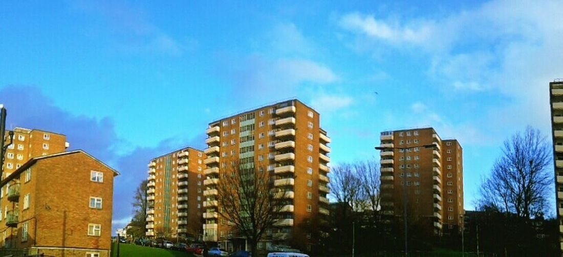 Afternoon Sun Highrise Architecture Urban Panorama