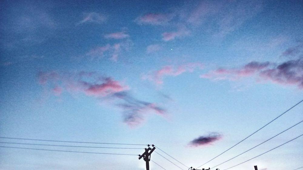 Atardecer en Bogota. Sky Blue&pink