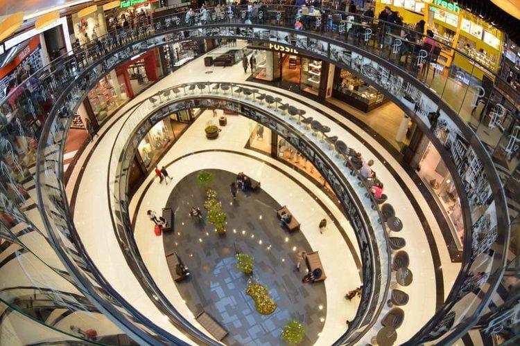 Shopping in