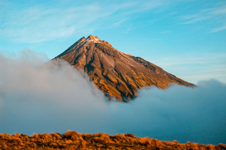 Mountain Scenics - Nature Beauty In Nature Tranquil Scene Sky Tranquility Non-urban Scene Environment Landscape Volcano Geology Physical Geography Idyllic No People Nature Day Volcanic Landscape Rock Land Remote Mountain Peak Outdoors Formation Volcanic Crater Power In Nature