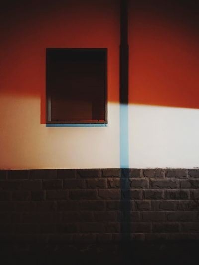 Close-up of illuminated wall