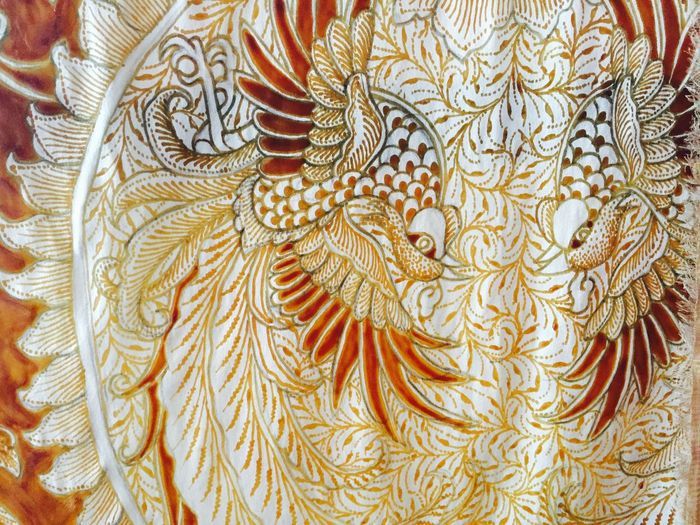 Bali, Indonesia Bird Close-up Colorful Gold No People Pattern