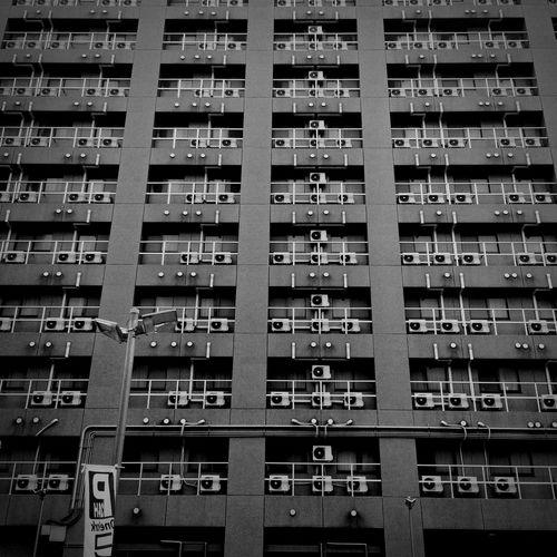 Monochrome Blac&white  IPhone Osaka,Japan Street Photography OSAKA Cityscape