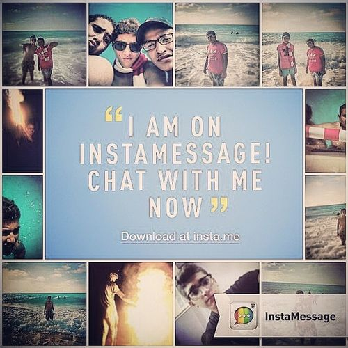 Hizaa! There is a REAL messaging app for Instagram users! Go to @instamessage_app download and chat with me now! Instamessage