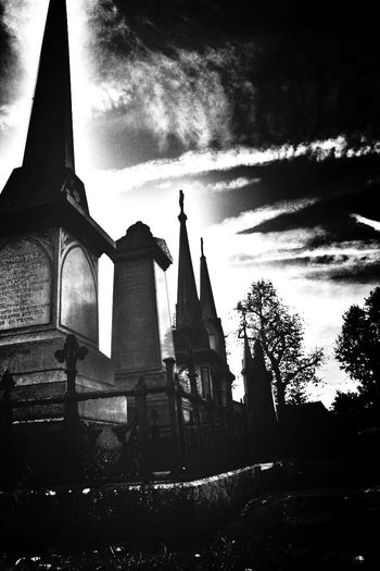 Blackandwhite Graveyard Beauty Bw_collection Eye4black&white  NEM Black&white