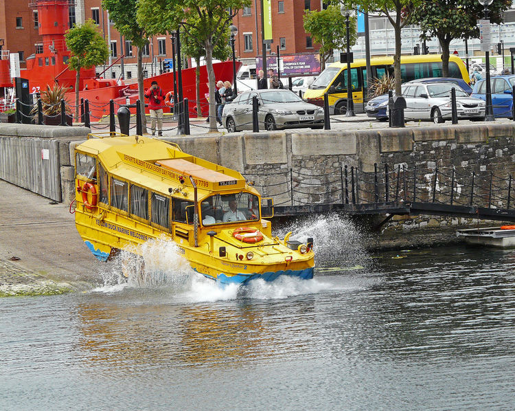 Amphibious craft - Albert Dock, Liverpool, UK Bulldozer Construction Site Machinery Construction Industry Construction Machinery Nature Motion Incidental People Mode Of Transportation Architecture Water Day Outdoors Yellow Transportation Waterfront Beatles No People Yellow Duck Mode Of Transport Building Exterior Built Structure Land Vehicle Amphibious Vehicle Adventures In The City Liverpool England Albert Dock Liverpool A Taste Of Liverpool Mobility In Mega Cities Modern Workplace Culture The Great Outdoors - 2018 EyeEm Awards
