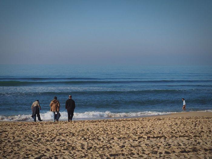 Blue Sky Beach Ocean