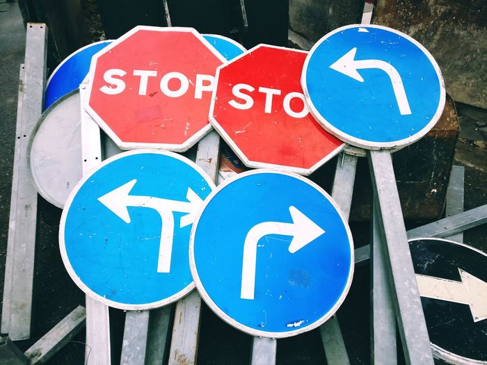 Traffic Sign Stop Stop Sign Road Sign Communication Guidance Parking Sign Road Close-up Speed Limit Sign Warning Sign Road Warning Sign Directional Sign Information Sign Traffic Arrow Sign