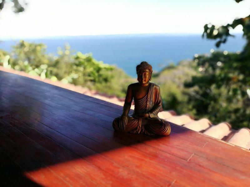 Yogatime Yoga Studio Costa Rica❤ Tranquility Ocean View Horizon Over Water