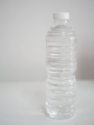 Bottle Close-up Day Indoors  No People Water Water Bottle  White Background