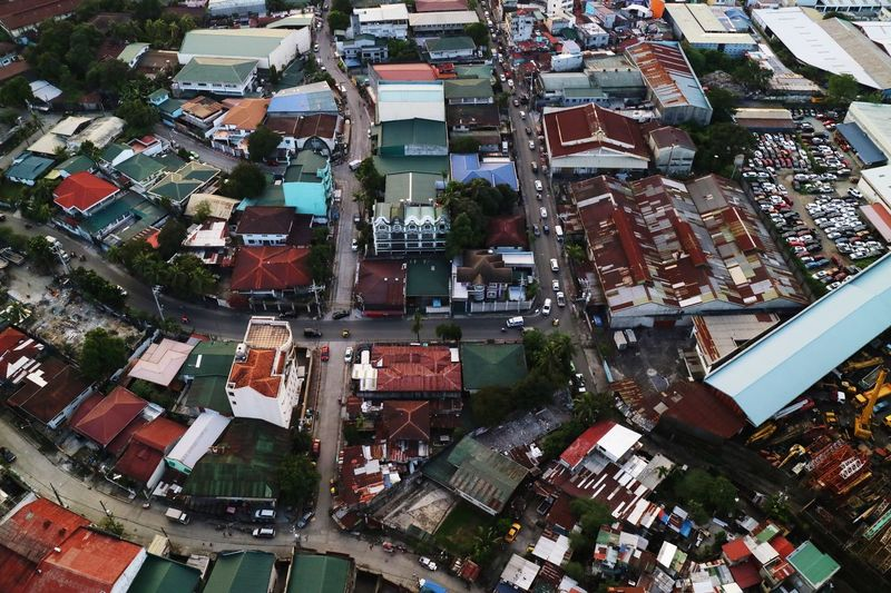 Street view Top View Rusty Crowded Philippines Manila EyeEmNewHere Erikawong Building Exterior Built Structure Architecture City Building High Angle View Residential District No People Day Cityscape Roof Outdoors Street City Life Nature Tree Backgrounds Skyscraper