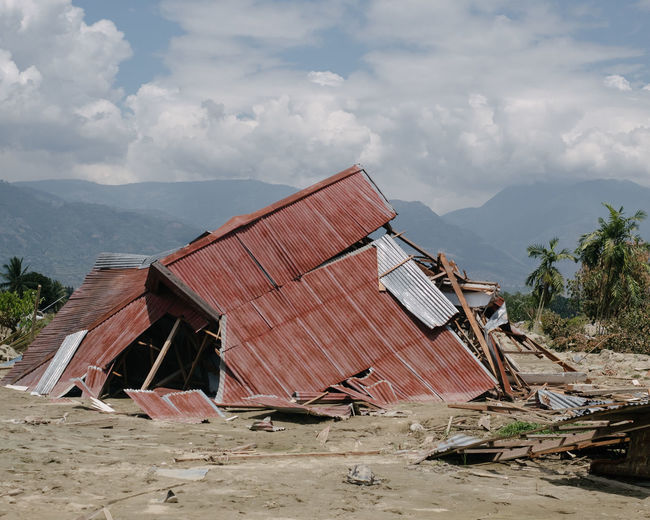 Life After Tsunami. On September 28th, 2018, Palu Indonesia suffered an M7.4 earthquake and a triggered tsunami, which brought more than 2000-death toll and countless casualties. Earthquake INDONESIA Palu Tsunami Disaster Environment Refugees Southeastasia Collapsed Building Damaged