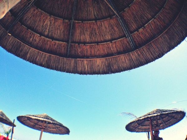 On The Beach Summertime Blue Sky