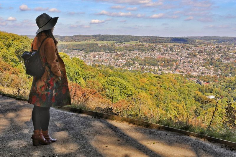 Matlock Matlock Look At The View Looking Over The Lanscape Derbyshire Looking Over Matlock Uk Matlock Bath Derbyshire Uk Matlock, United Kingdom Real People One Person Sky Lifestyles Nature Full Length Standing Women Leisure Activity Casual Clothing Beauty In Nature Looking At View My Best Travel Photo