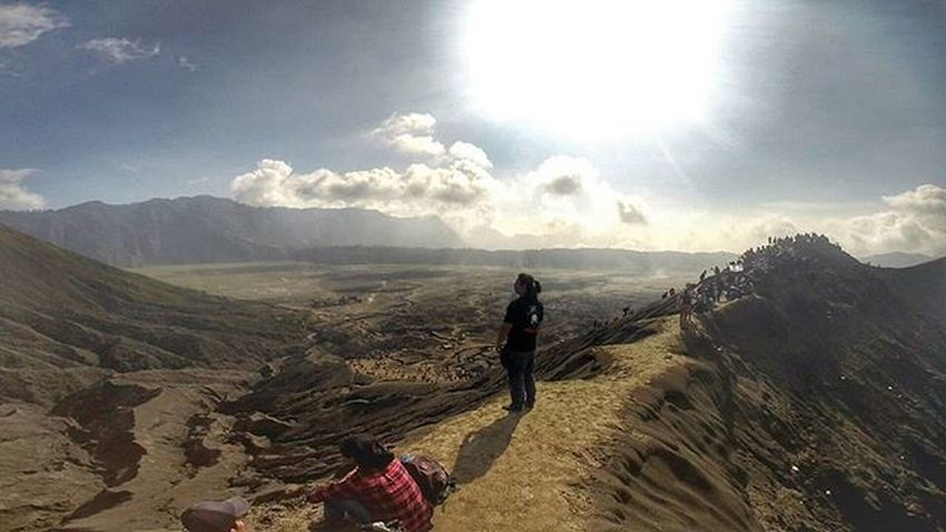 Mountain Volcano Crater Bromo Val  2016 Gopro Gopro3plus Goproblackedition Goproeverything Goprooftheday Goprohero3 Gopro_moment Val  2016 Miles Away