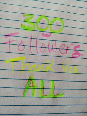 300 Followers I Love My Followers Thank You Love To All World Peace