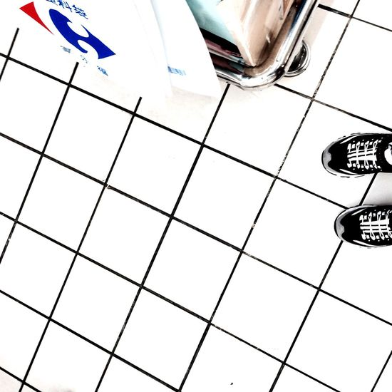 Hi World White Cold Collection Spring Winter March Beautiful Fresh New Bnw Hello Shop Mall Market Floor Black Check Shoes Sketchers Sneakers Trainers
