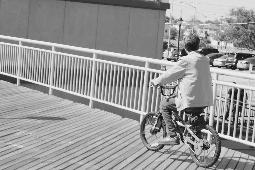 NYC Man on a bike. Mode Of Transport Transportation Riding Cycling City Life Day Bike Riding Bikesaroundtheworld Bikes Bike Lane Bikelife Exceptional Photographs