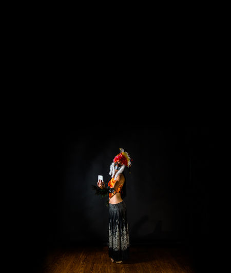 The Creative - 2018 EyeEm Awards Art Arts Culture And Entertainment Black Background Performance Performing Arts Event Portrait Stage - Performance Space Studio Shot