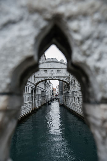 Venice Venice, Italy Architecture Arch Built Structure Water Bridge Bridge - Man Made Structure Connection Nature Focus On Background No People Travel Destinations Day Building Exterior Selective Focus Travel Transportation Tourism Outdoors Building Diminishing Perspective Canal Arch Bridge