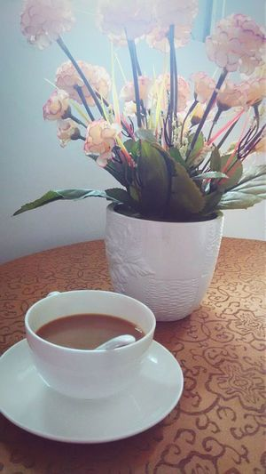 A cup of coffee,enjoy life. Colour Of Life