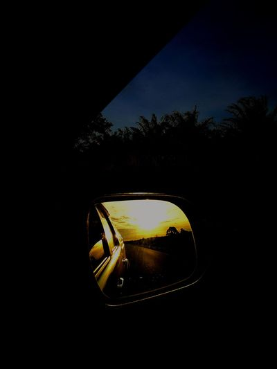 Car Transportation Land Vehicle Reflection No People Side-view Mirror Sky Day Tree Vertical Shiny Close-up