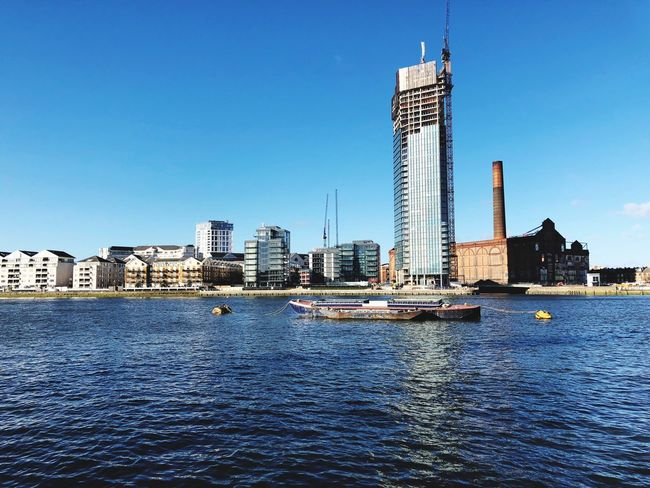 #london #England #batterham Architecture Skyscraper Built Structure Building Exterior Water Tower Tall - High