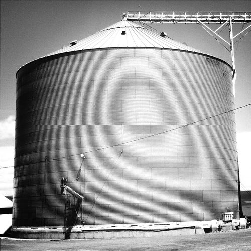 Exterior Of Storage Tank In Factory