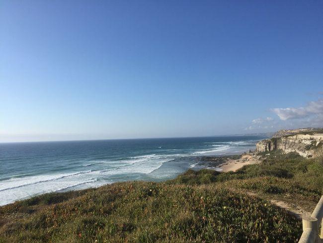 Portugal Santa Cruz Beach Beutiful