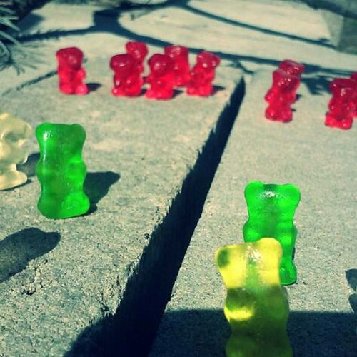 The gummy bear wars. Gummy Bears This Is War I Took This Funny
