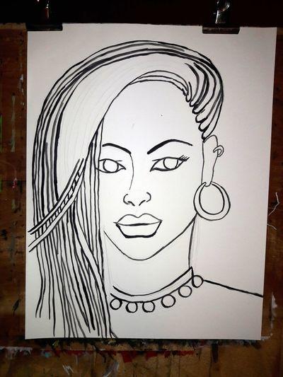 Sketch Close-up