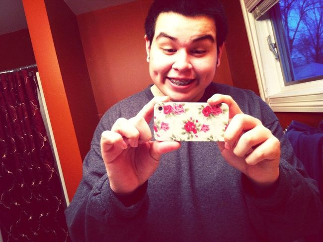 My floral case came in and is my favorite case so far. <3