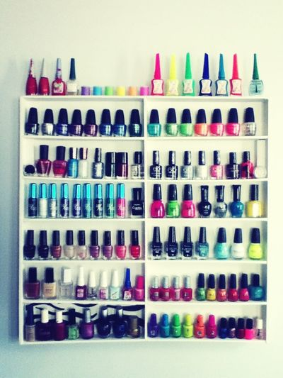 All My Nail Polishes, Total : 112