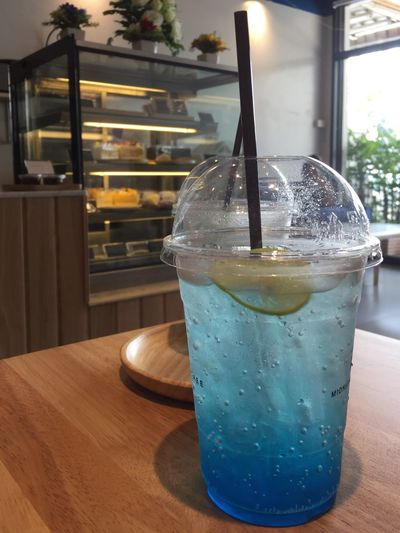 Table Indoors  Drink Food And Drink Refreshment Drinking Straw Freshness Close-up No People Drinking Glass Healthy Eating Ready-to-eat Day Blue Ready To Drink Beer