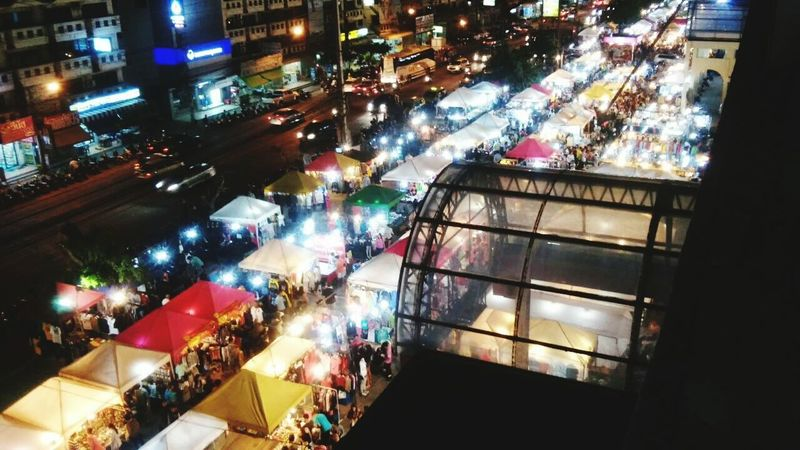 Night Market Pattaya Thailand Illumination Nightphotography Night Lights