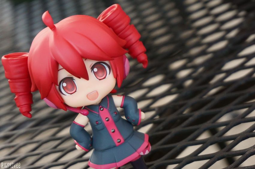 Teto Kasane :3 Utauloid Utau Vocaloid Vocaloids Cute Close-up Colorful Focus On Foreground Anime Art Creativity ねんどろいど Nendoroid Outdoors Outdoor Photography Toyphotography Still Life Red