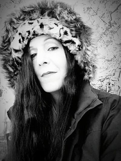Picturing Individuality Shades Of Grey Black And White Photography Winter Fashion Long Hair Fur Hat Looks Like A Movie Star Thats Me ♥ Modeling My Best Photo 2014